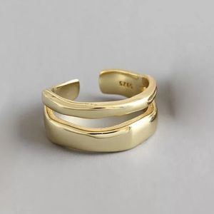 ‼️Insta double layered gold ring